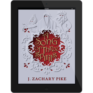 A Song of Three Spirits on an Ereader